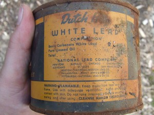 Lead paint was used extensively prior to 1978 but has proven harmful especially to children.