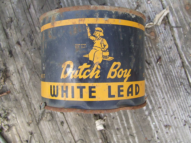 Lead paint was used extensively prior to 1978 but has been proven harmful if ingested.