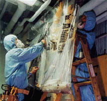 As long as asbestos is handled safely, we can minimize risk.